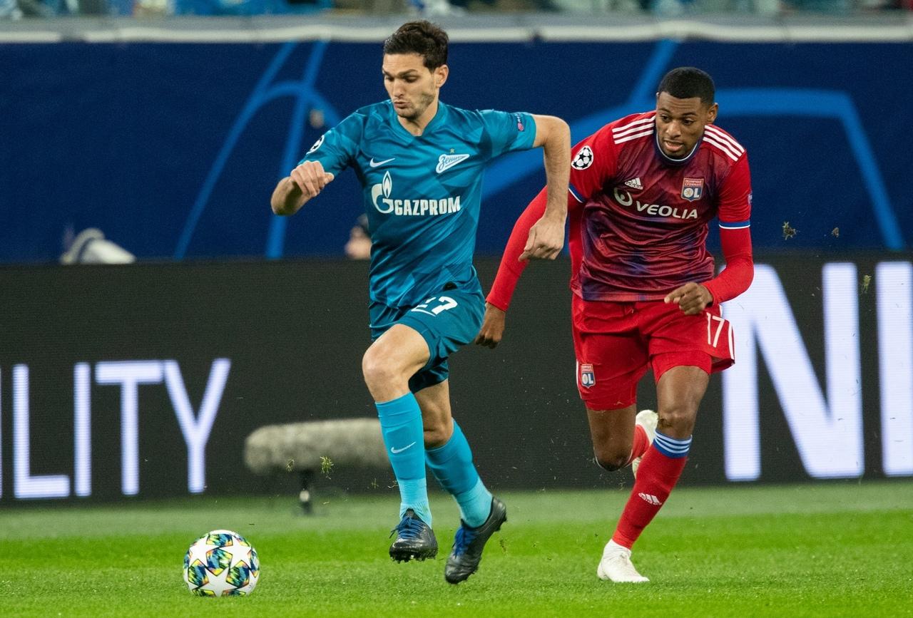 Зенит - Лион, 2:0. Лига чемпионов 2019/20
