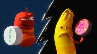 LARVA   CAMPEÓN DE PING PONG   Dibujos animados para niños   WildBrain