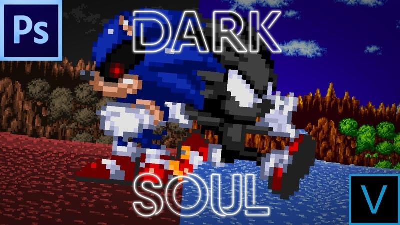 Dark... but Light in Soul...|Sonic.exe Nightmare Beginning Animation|Vegas Sprite Animation