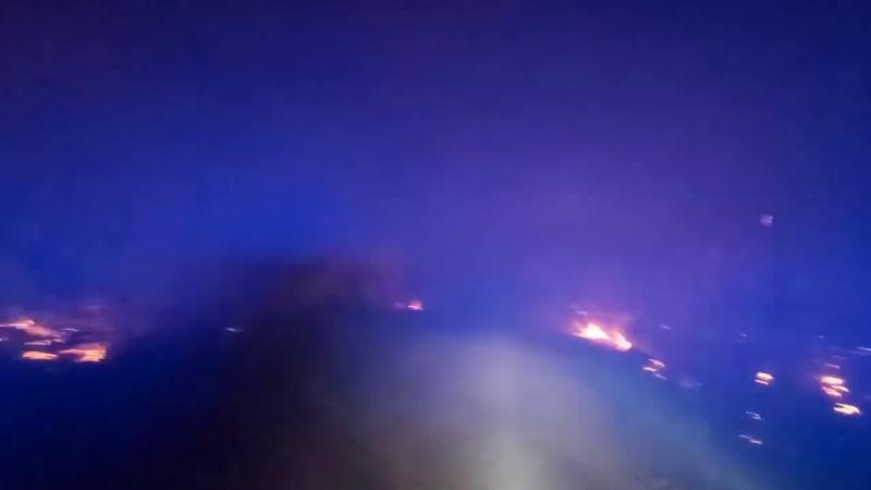 Саратовский губернатор отправил ликвидировать лесной пожар под Аткарском тяжелую технику