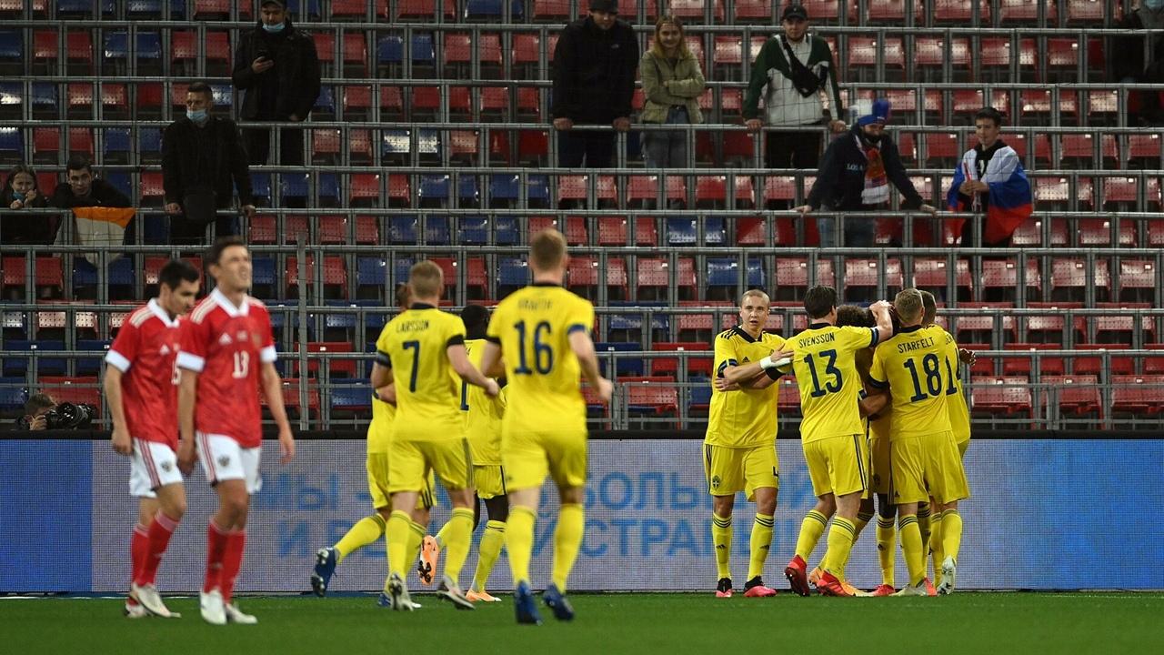 Россия - Швеция, 1:2