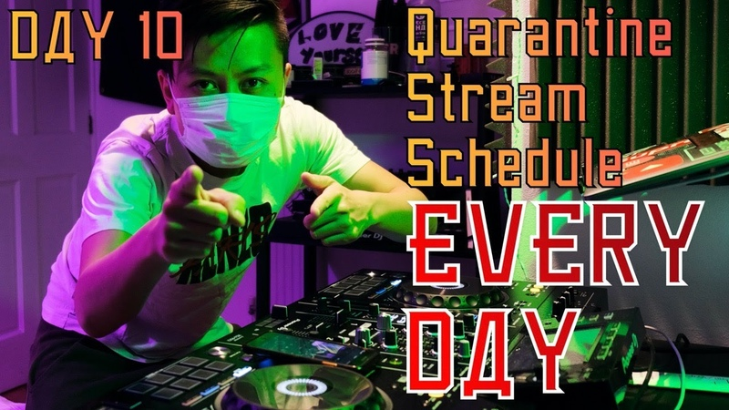 DJ RAVINE - Isolation Quarantine Stream DAY 10 (HARDSTYLE, HARDCORE, EDM)