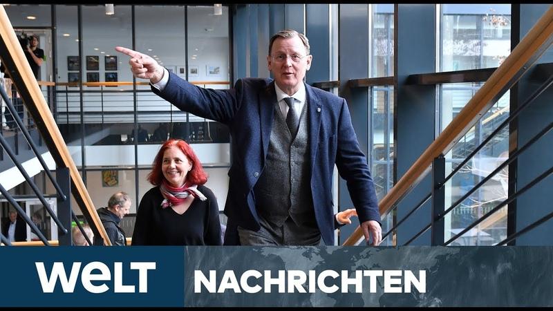 THÜRINGEN CDU springt über ihren Schatten Unterstützung für Ramelow
