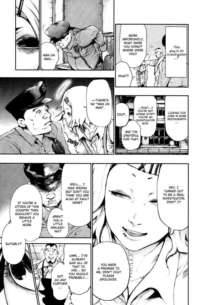 Tokyo Ghoul, Vol.5 Chapter 48 Ear Bone, image #15