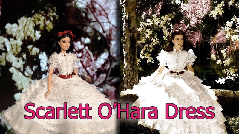 Scarlett O Hara | With love for Tara Dress | Gone with the Wind 👗 Clothes For Barbie