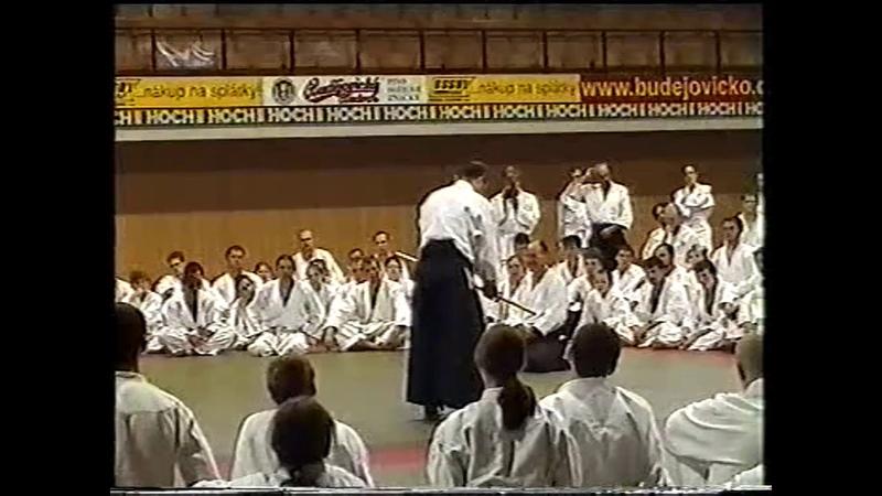 IKEDA Masatomi sensei Ceske Budejovice Czech republic 7 2001 1