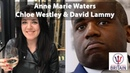 Chloe Westley and David Lammy Anne Marie Waters For Britain