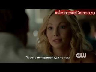 The Vampire Diaries - Candice Accola Interview [Русские субтитры]