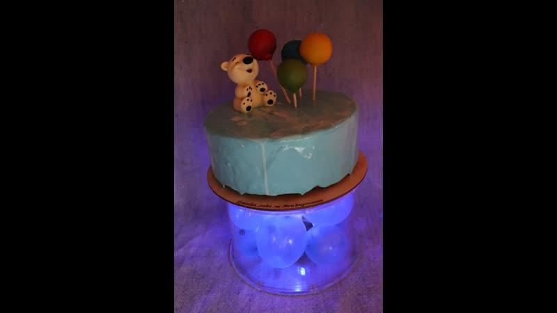 Фальш ярус для детского тортика с подарком