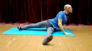 """Метод """"Дрель - волна"""" для здоровья позвоночника,таза и живота.Коррекция тела."""