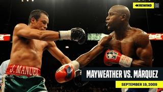 FULL FIGHT | Floyd Mayweather vs. Juan Manuel Marquez (DAZN REWIND)