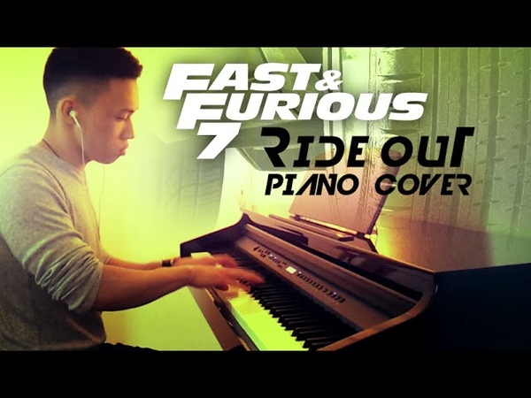 Ride Out Kid Ink Tyga YG Wale Rich Homie Quan piano cover by Ducci Fast Furious 7