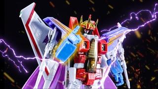 Transformers Masterpiece 11 MP11 Starscream stop motion review.變形金剛Mp11大師級紅蜘蛛/天王星停格動畫