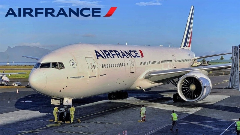 Air France [Premium Eco] Boeing 777 🇵🇫 Tahiti PPT ✈️ Paris CDG 🇫🇷 via Vancouver YVR 🇨🇦