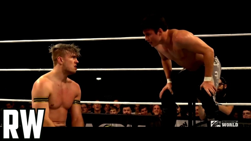 Will Ospreay vs Mike Bailey WCPW Pro Wrestling World Cup Quarter Finalsׁ Highlights