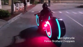 Electric Tron Lightcycle is Street Legal