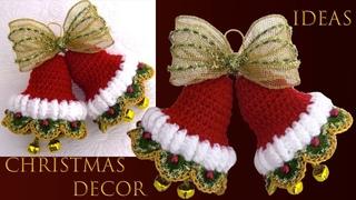 Ideas de Navidad 2019 como hacer campanas navideñas Christmas decor