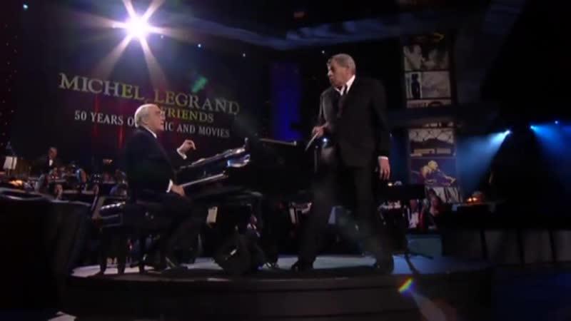 Michel Legrand Jerry Lewis 2010