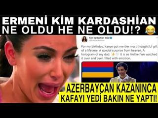 Kim Kardashian Ermenistan'ın Azerbaycan Yenilgisiyle Sıyırdı! Kanye West Babası Robert Kardashian...