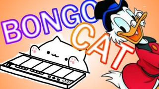 Duck Tales NES Theme, but played by a bunch of bongo cats