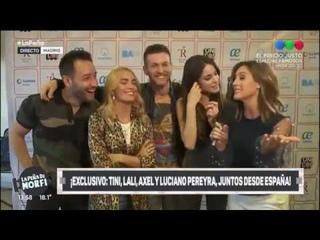 Festival Unicos Press Conference - Tini Stoessel & Lali Esposito