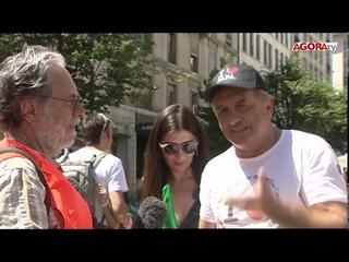 Gilets Oranges à Genève le 25 Juillet - Manifestation contre les abus du placement forcé des enfants
