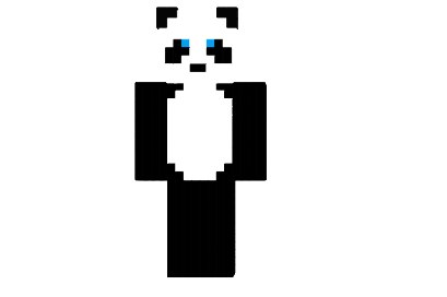 скины майнкрафт панда #4