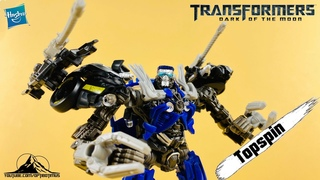 OFFICIAL Studio Series 63 Deluxe Class TOPSPIN Video Review