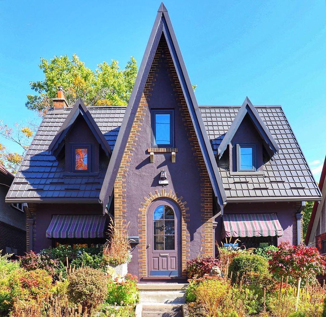 Необыкновенный жилой дом в Канаде