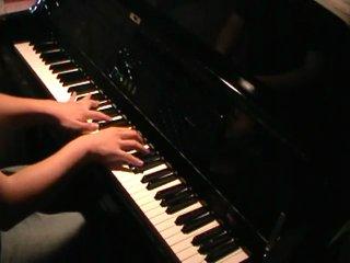Angel beats! ED - Brave Song piano