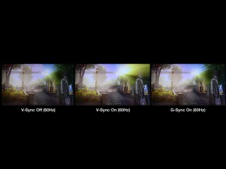 NVIDIA G-Sync Compared to V-Sync on/off