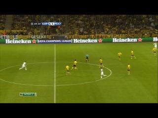 Лига Чемпионов 2012-13. 1-2 Финала. Боруссия Дортмунд - Реал Мадрид 2-й тайм