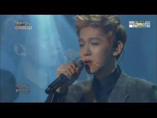130817 baekhyun & chen really i didn't know @ immortal song 2