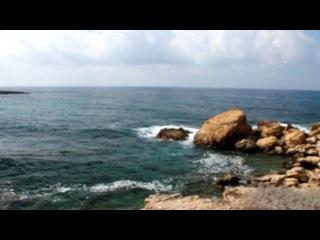 Вид Кипра окрестность около отеля