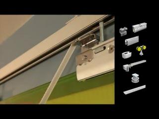 Стеклянные автоматические двери MANTION