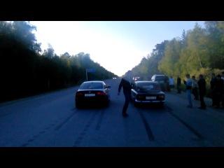BMW 3 vs VAZ 2101