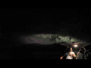 Паранормальный пранк-розыгрыш в машине (девушка посреди дороги в поле) / Dame Blanche - PARANORMAL PRANK (Pomsta 8)