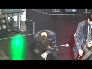 "[fancam:fan event] 140331 b.a.p @ фанмитинг ""the first date with baby japan"" в токио. (yongguk focused)"