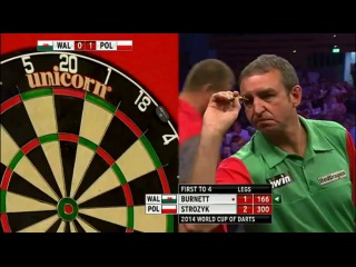 Wales vs Poland (PDC World Cup of Darts 2014 / Second Round)