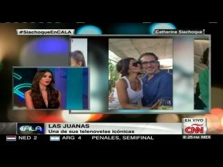 Entrevista a catherine siachoque en cala cnn