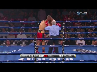 Бокс Ahmed Elbiali vs Dwaye Williams