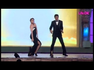 21st annual life ok screen awards танец от шахрукх кхана и алии бхатт
