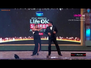 21st annual life ok screen awards танец от алии бхатт и шахрукх кхана