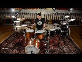 Gretsch Brooklyn Series 4pc Bop Kit in Mahogany Satin - Zildjian K Constantinople Cymbals