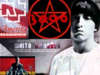Rammstein VS Eminem - White America is burning [Mash-Up]