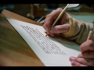 Видео-фрагмент из экспозиции нового музея «Сказание о Мамаевом побоище: новое прочтение»