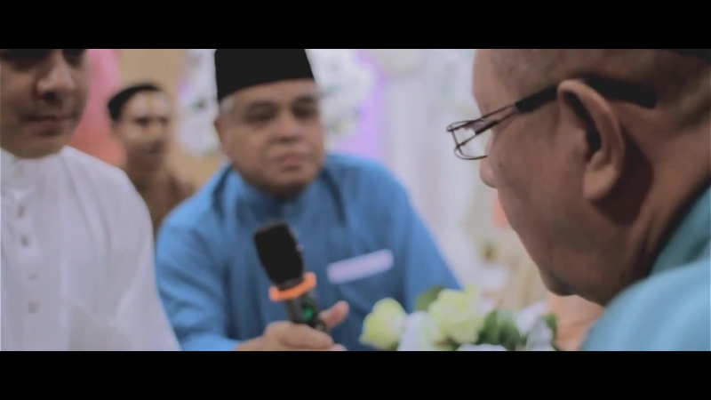 MALAY WEDDING FUAD EYRA@ZUHAIRAH PengacaraTv9 Solemnization Reception by NEXT ART