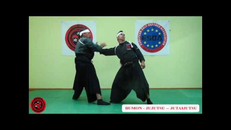 1 dan cinturón negro jujutsu kata danshu ninpo taijutsu Bumon