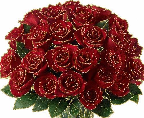 анимация розы букеты роз самая
