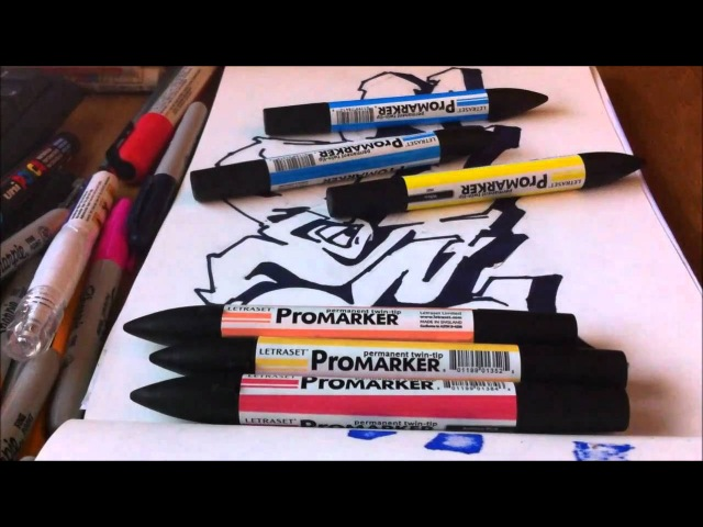 Resk 2010 Graffiti Sketch